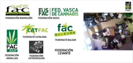 Federaciones asociadas a la F.A.C.