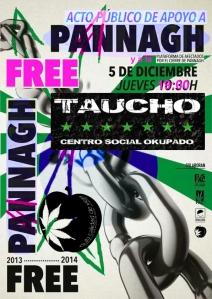 ¡¡Free Pannagh y todxs lxs personxs injustamnte multadas y encarceladas!!